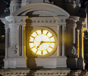 Philadelphia - City's Hall Clock