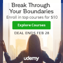 Udemy Discounts: All Courses $10 until Tuesday