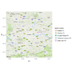 Spatial analysis with ggmap Exercises (part-1)